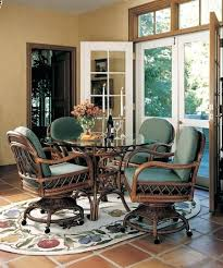 Kitchen Chairs With Rollers Kitchen Chairs With Rollers Oak Dining Chairs With Casters Round