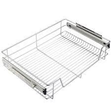 panier coulissant pour meuble de cuisine panier à coulisse cuisine tiroir de rangement coulissant en métal