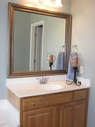 Bathroom Mirror Frames by Custom Frames For Existing Mirrors Bathroom Mirror Frame Ideas