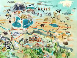 Himalayan Mountains Map Check Out This Stunningly Detailed Illustrated Map Of India Nepal