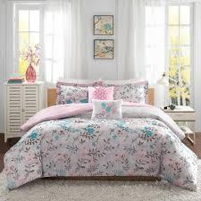 Blush Pink Comforter Comforter Butterfly Damask Print Pc Fullqueen Elegant Light Pink