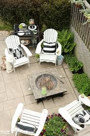 Chairs For Outdoor Design Ideas Simple Summer Pit Seating Area Setting For Four