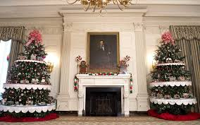 Pictures Of Homes Decorated For Christmas On The Inside The White House Holiday Decorations For The Obama Family U0027s Last