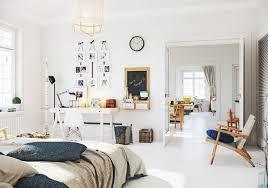 Scandinavian Bedroom Design Featuring Scandinavian Apartment Decoration Ideas Beautified With