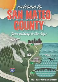 bernard bureau san mateo county convention visitor bureau poster by emilio jose