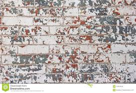 chipped red white blue paint brick wall stock photo image 44012642