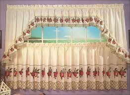 Contemporary Kitchen Curtains And Valances by Kitchen Modern Kitchen Curtains And Valances Swag Kitchen
