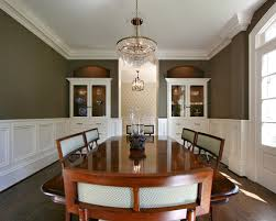 Wainscoting Ideas For Dining Room Modern Home Interior Design - Dining room with wainscoting