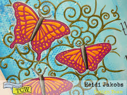 art journal page butterfly u2013 the crafter u0027s workshop blog