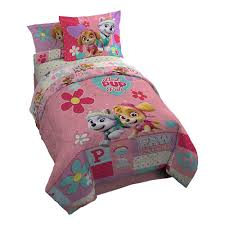 girls princess bedding amazon com paw patrol we are pawsome girls twin comforter set