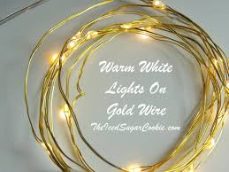 Battery Run Fairy Lights by Warm White Birthday Party Lights Led Battery Operated Lights Gold