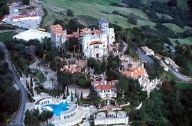 San Simeon Map Hearst Castle Castle In California Thousand Wonders