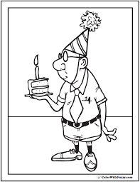 happy birthday for grandpa coloring page free download