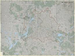 Map Of Berlin Germany by