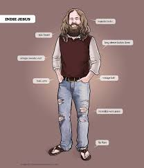 Mean Jesus Meme - jesus the original hipster