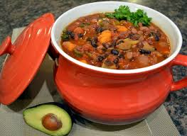 hearty crockpot vegetarian chili healthy life redesign