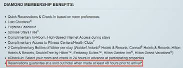 Hilton Diamond Desk Is Hilton Diamond Reservation Guarantee Worthless One Mile At A