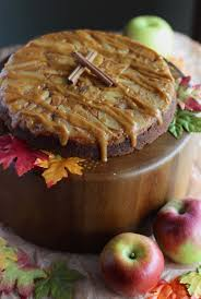 paleo caramel apple upside down cake aip fed and fulfilled