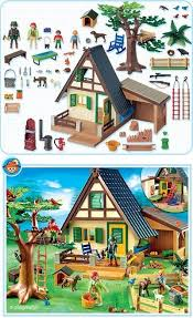 playmobil farm set heidi s friend the goatherd had to a house