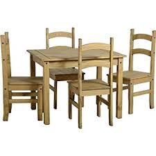Corona Dining Table And Chair Sets Full Range Pine Dining Room - Pine dining room table