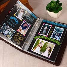 shop creative gallery quality leather book diy photo album