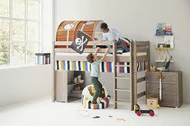flexa classic massivholzbett mit gerader leiter kiefer möbel
