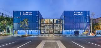 world u0027s largest shipping container shopping mall pops up in seoul