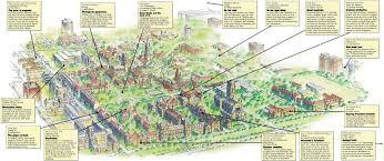 Chicago Botanic Garden Map by Writers U0027 Blocks The University Of Chicago Magazine
