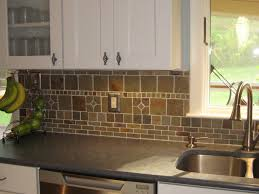 Stone Kitchen Backsplash Ideas Kitchen Cabinets Stainless Steel Kitchen Backsplash Ideas
