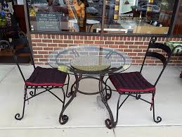 Tile Bistro Table Kaboodle Home Gallery Upscale Furniture Consignment Shop In