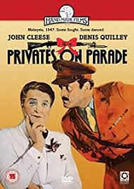parade dvd privates on parade dvd co uk cleese denis quilley