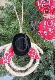 Cowboy Christmas Tree Decorations by Homemade Country Style Rad Ball Ornaments I Could Make Them Out