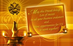 opportunities to work together diwali card diwali business