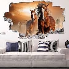 chambre fille cheval stickers chambre bebe fille pas cher 8 sticker mural cheval