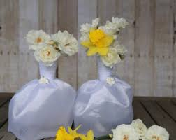 Flower Vases Centerpieces 6 Bridal Dress Flower Vase Centerpieces Great For Bridal