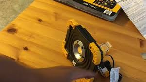 cat 324122 rechargeable led work light cat rechargeable led light youtube