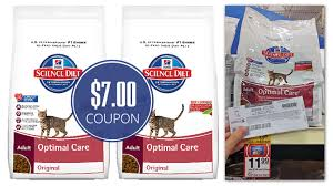 7 00 coupon hill u0027s science diet cat food only 4 99 at petsmart