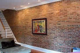 interior wall paneling home depot brick facing for interior walls how to create a faux brick wall faux