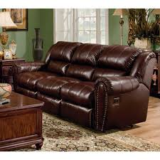 Double Reclining Sofa by Lane Sidney Leather Double Reclining Sofa Sam U0027s Club