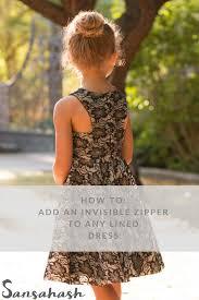 sansahash how to add invisible zipper tutorial zahara png