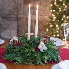 fresh christmas centerpieces sweet centerpieces
