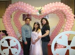 quince decorations quinceanera decorations and sweet 16 balloon event decorations