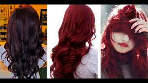 dark cherry hair color ideas for dark skin youtube