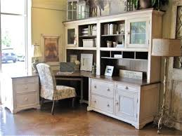 Home Office Desk With Hutch Country Willow Showroom Traditional Home Office New York