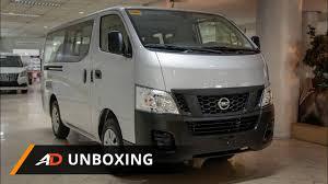 urvan nissan interior 2017 nissan nv350 12 seater escapade urvan autodeal unboxing