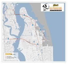 Map Of St Augustine Florida by Half Marathon Race Info U2013 Columbia St Augustine Half Marathon