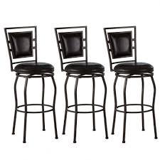bar stools remarkable vittoria brown leather modern bar stools