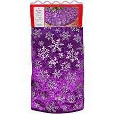 purple christmas tree skirt christmas lights decoration