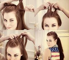 easy to keep hair styles easy summer hair styles beauty self com that ponytail you ve