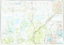 Alaska Topo Maps by Download Topographic Map In Area Of Chistochina Copperville
